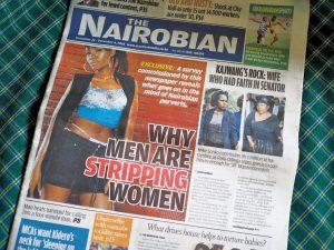 """ケニアの東スポ?""""The Nairobian"""""""