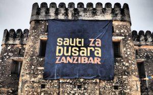 会場となるオールド・フォート。ザンジバル最古の建物