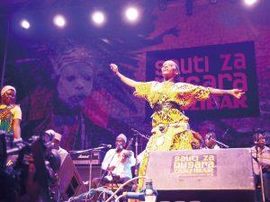 連日連夜、アフリカ中の音楽の祭典!