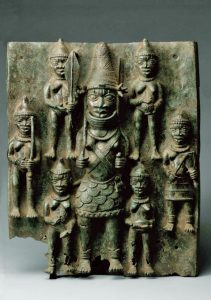 "BENIN  Relief ""Warrior"" 16th-17th AD"