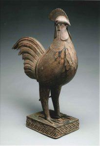 """BENIN Cock """"OKPA""""  16th-17th AD"""