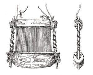 筬:モシ族(ブルキナファソ)