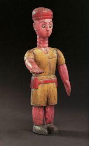 トーゴ エウェ族のコロン人形 H67cm
