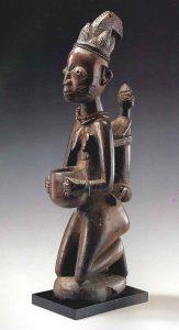 ヨルバ族 母子像