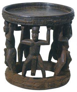 バミレケ族 イス
