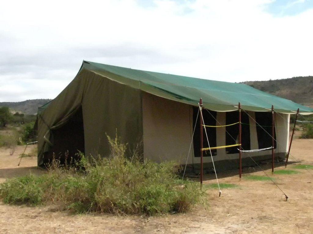 ケニア・マサイマラのキャンプ場2