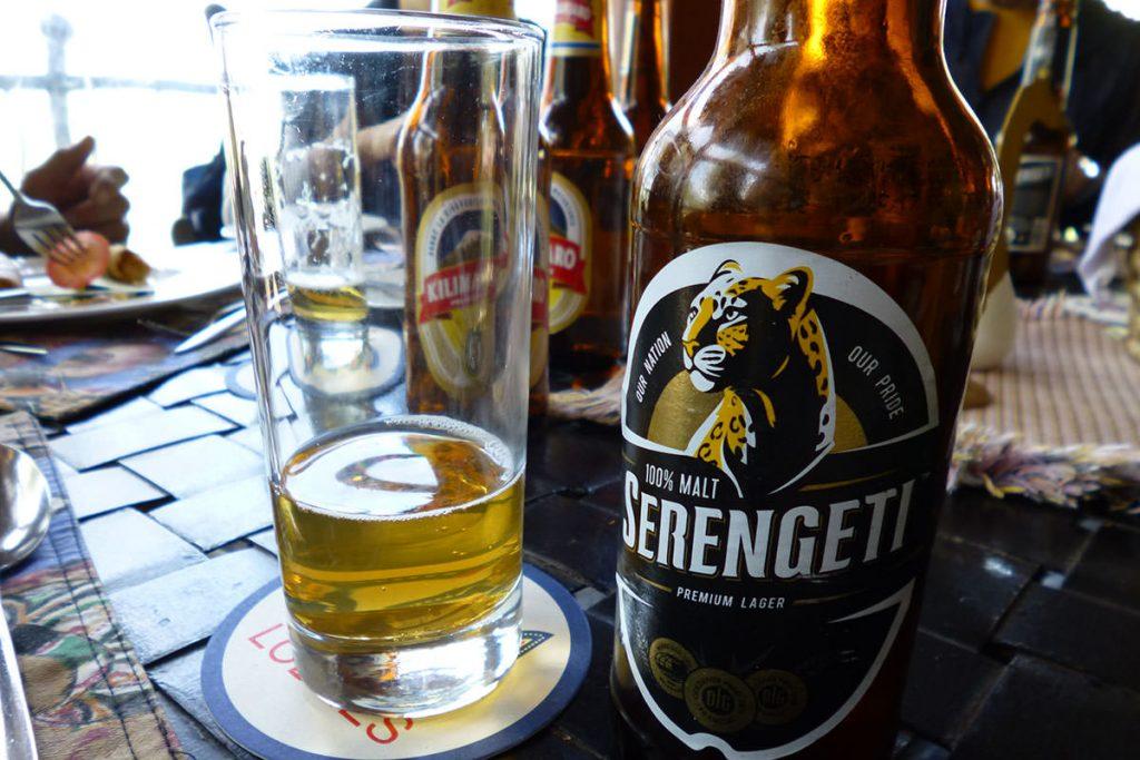 セレンゲティに来たら飲みたくなるビール!