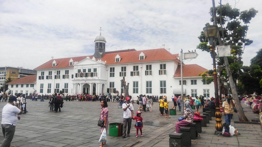 オランダ統治時代の旧バタヴィア市庁舎