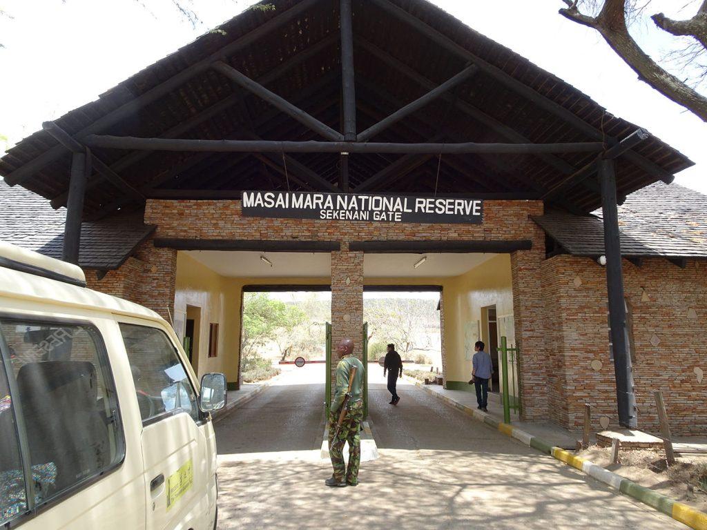 マサイマラのゲート