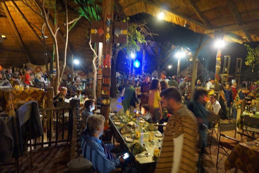 MAMA AFRICAでの夕食2