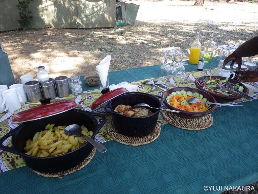 キャンプ中の美味しい食事