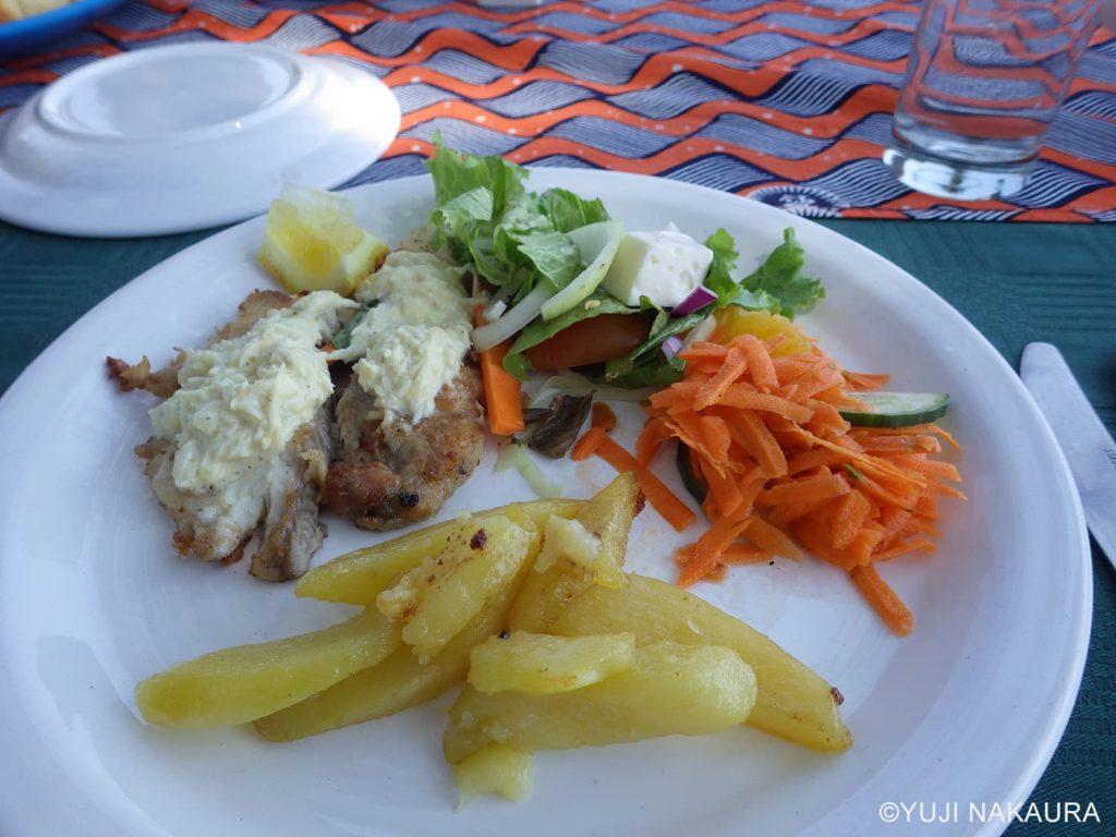 キャンプ中の美味しい食事2