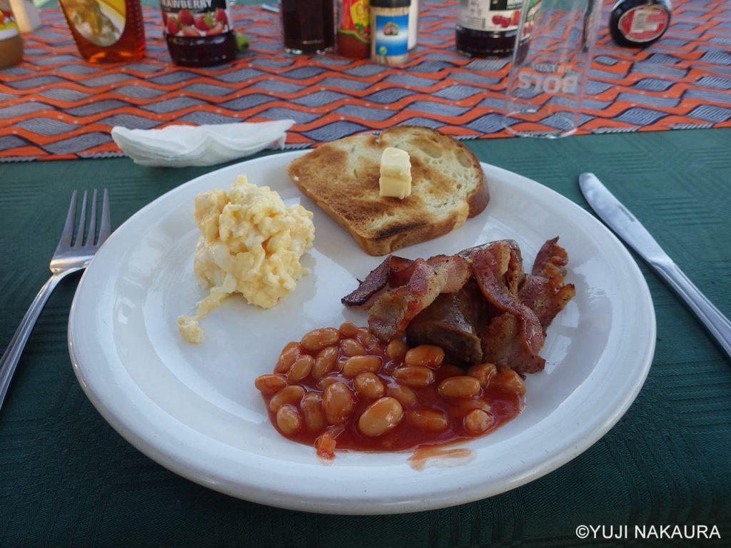 キャンプ中の美味しい食事3