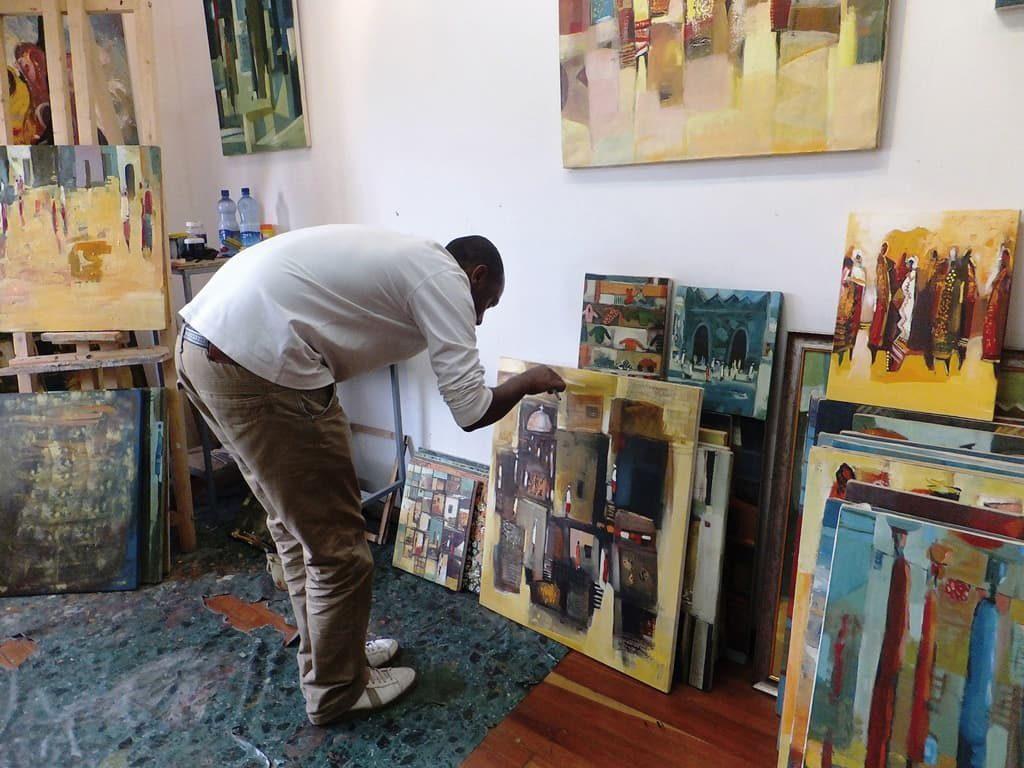 若手アーティストが共同でオープンした「5Artists Gallery」