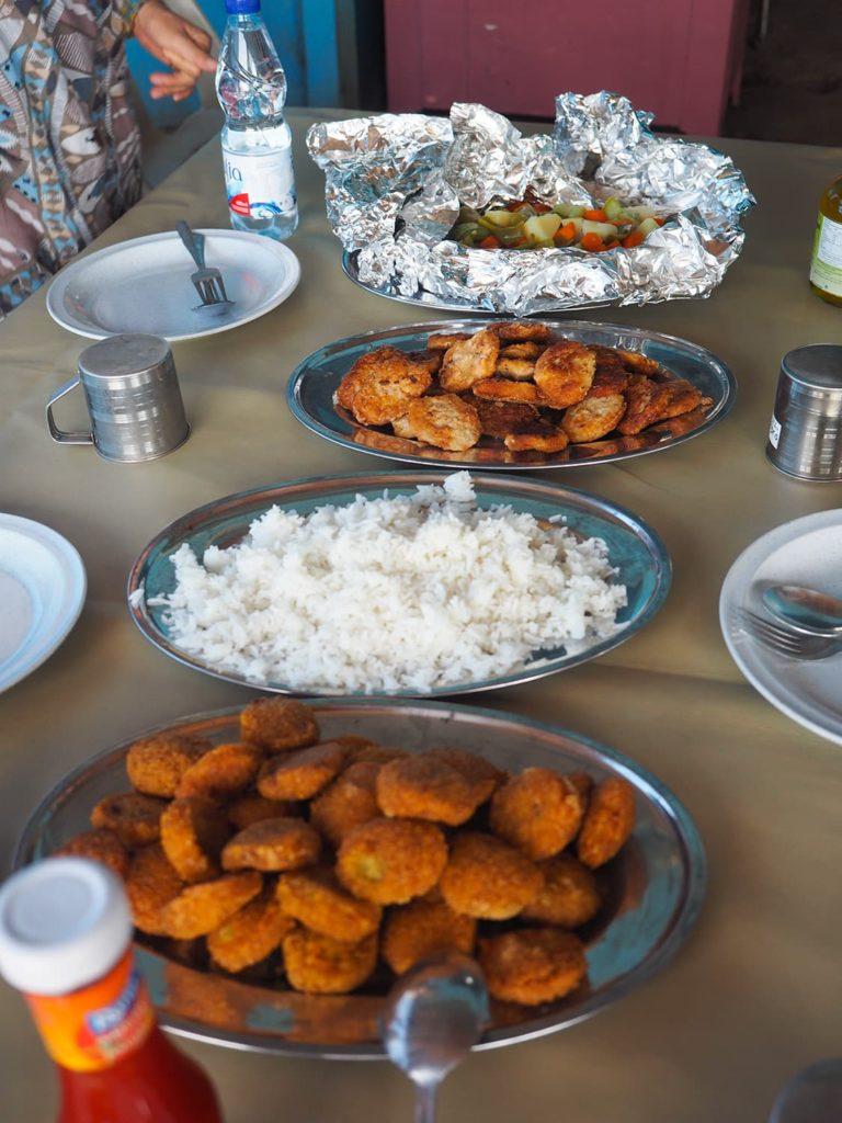 ナイルがもたらす恵みをたっぷり吸収した地の食材を使った、美味しいスーダン食