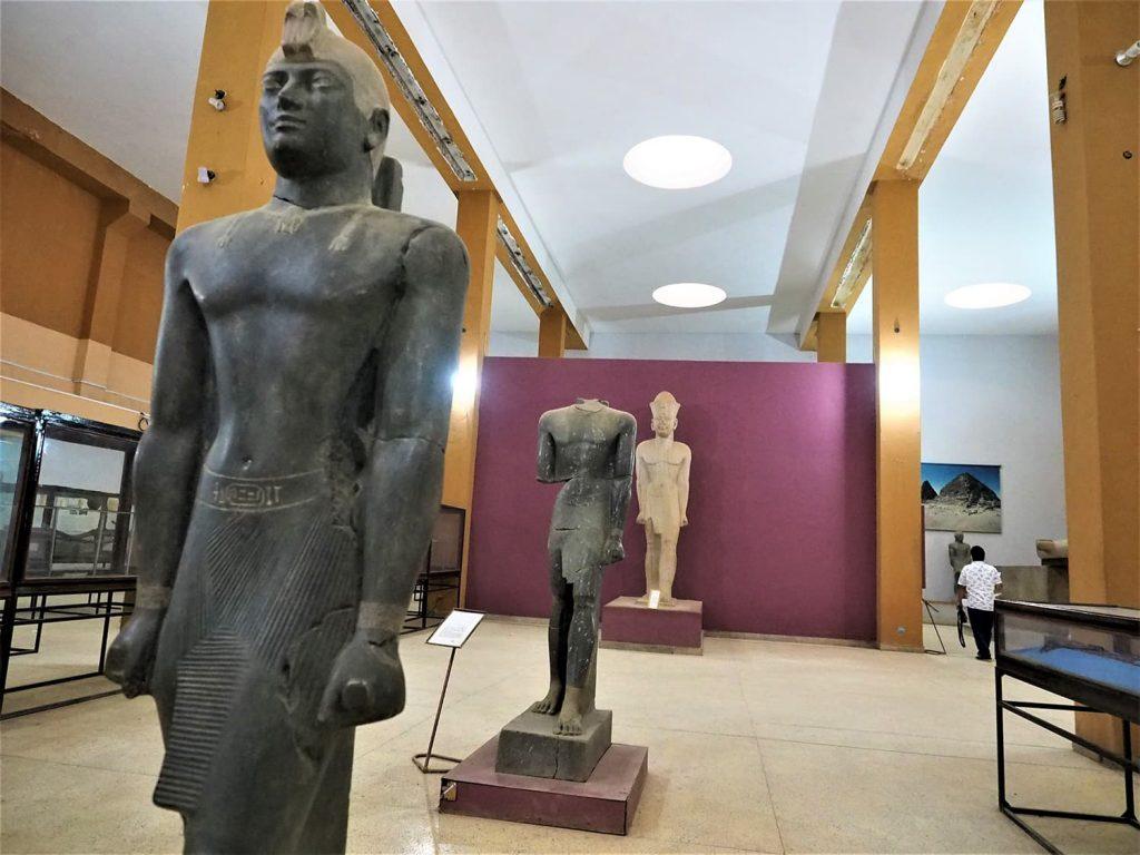 様々な時代の出土品を見ても、スーダン史の厚みを感じます。
