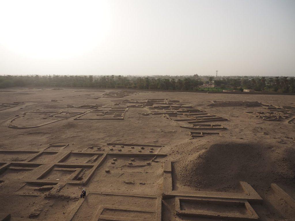 古代ケルマ王国の都の遺構跡。熱帯アフリカ地域における最古の黒人王国と言われています。