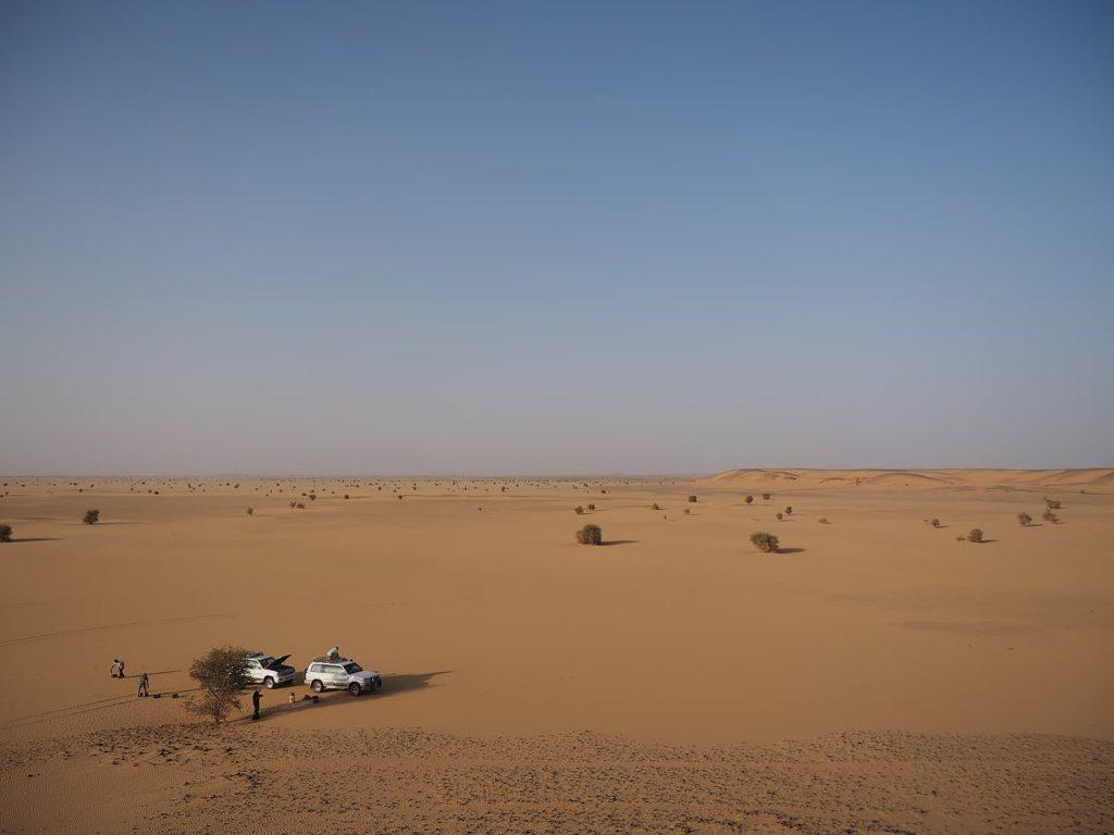 まだまだ砂漠の旅は続きます。