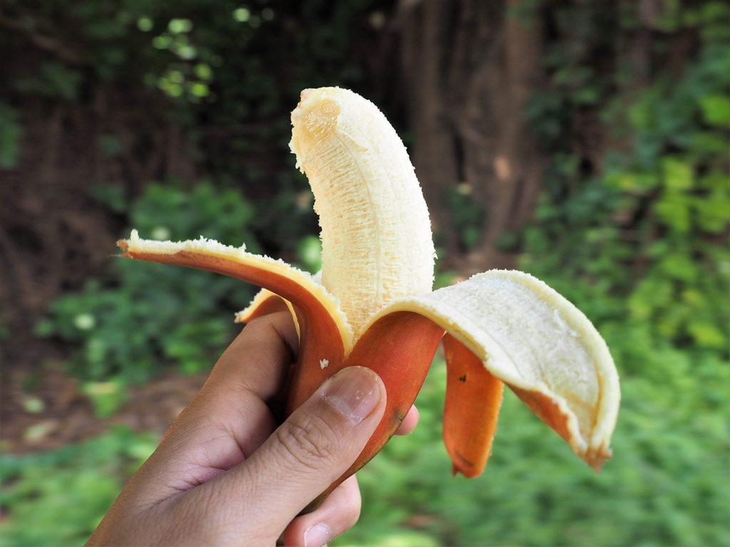 味は濃厚!アフリカのフルーツはいつも美味しいので、小腹が空いたときにはお勧めです!