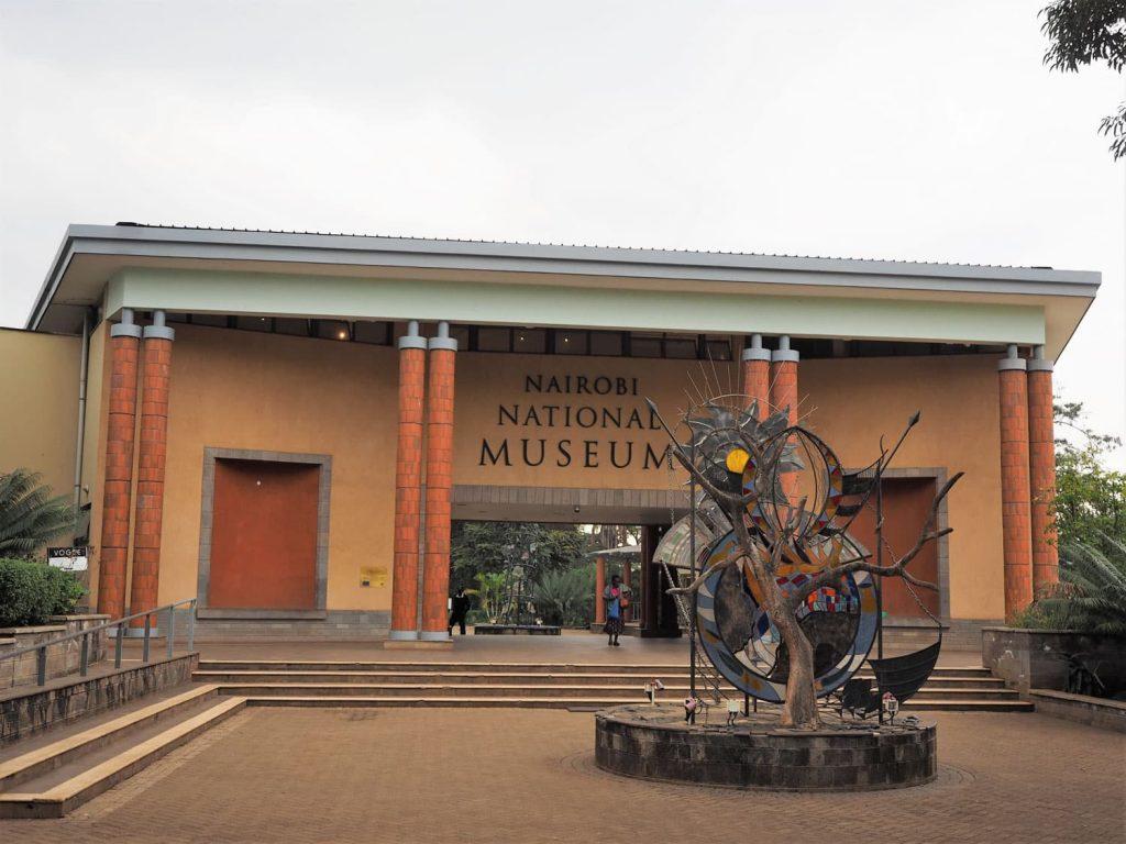 到着後、ナイロビ国立博物館へ。隠れた名所です。