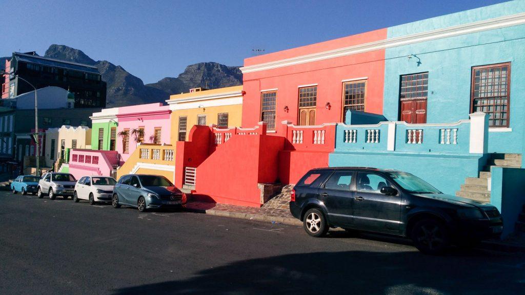 カラフルな建物が立ち並ぶボカープ地区