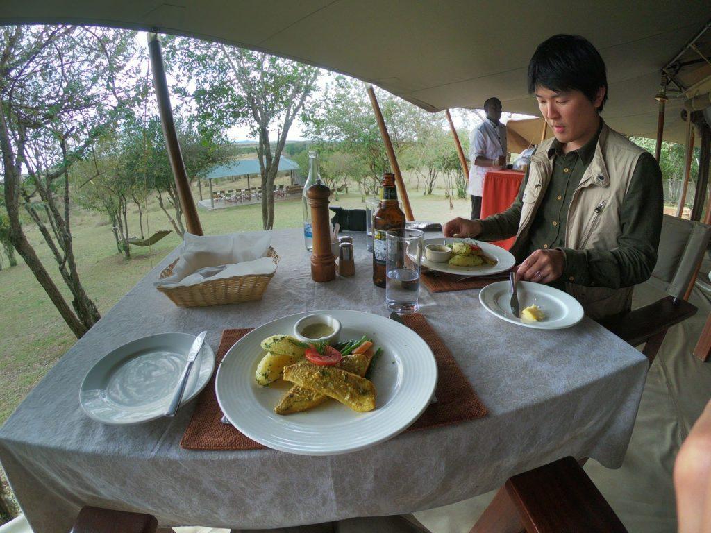 料理が毎食とても美味しい