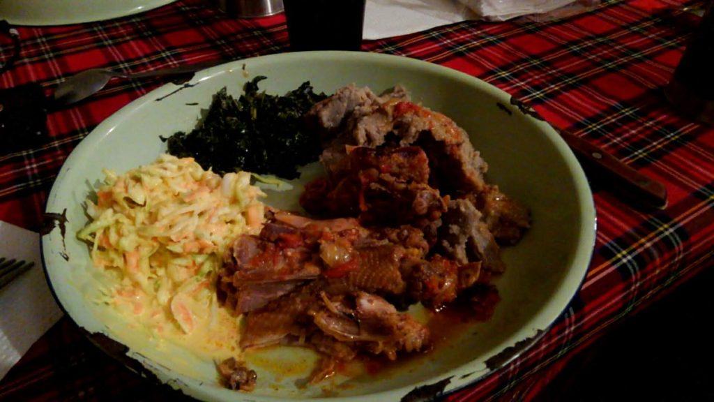 素朴ながら美味しいジンバブエの家庭料理