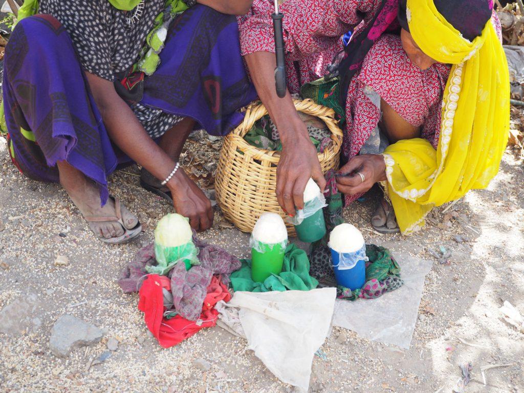 アフロの語源にもなったアファールの人々が使うという髪用バター。