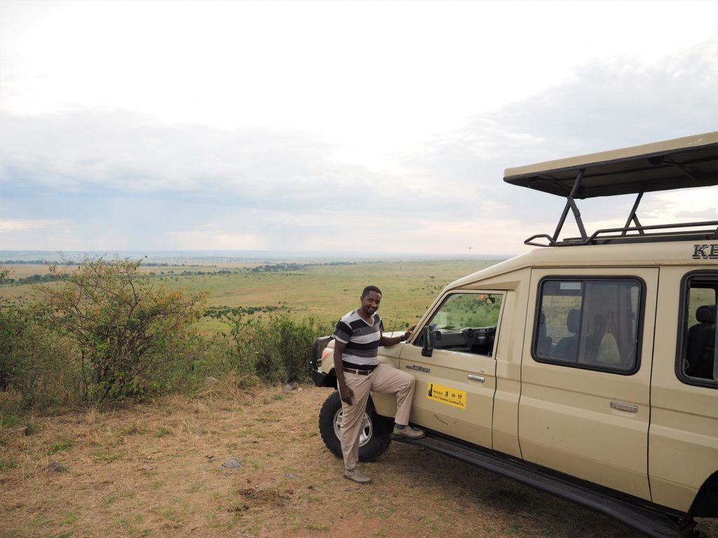 サンドリバー・エリアの隠れスポット。サラーの丘です。遥か南のタンザニア方面まで見渡せます。