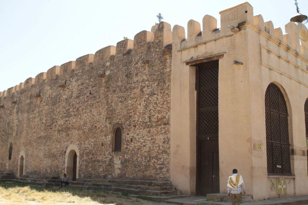 16世紀に建造された旧マリア教会(女人禁制)