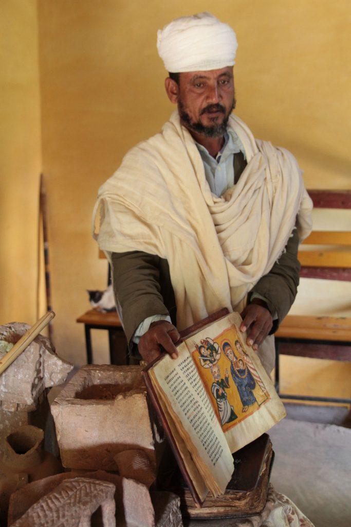 エチオピアで2番目に古いとされる250年前の聖書
