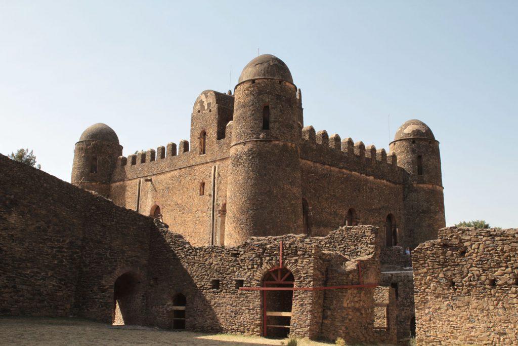 一番保存状態の良いファシリダス王の城