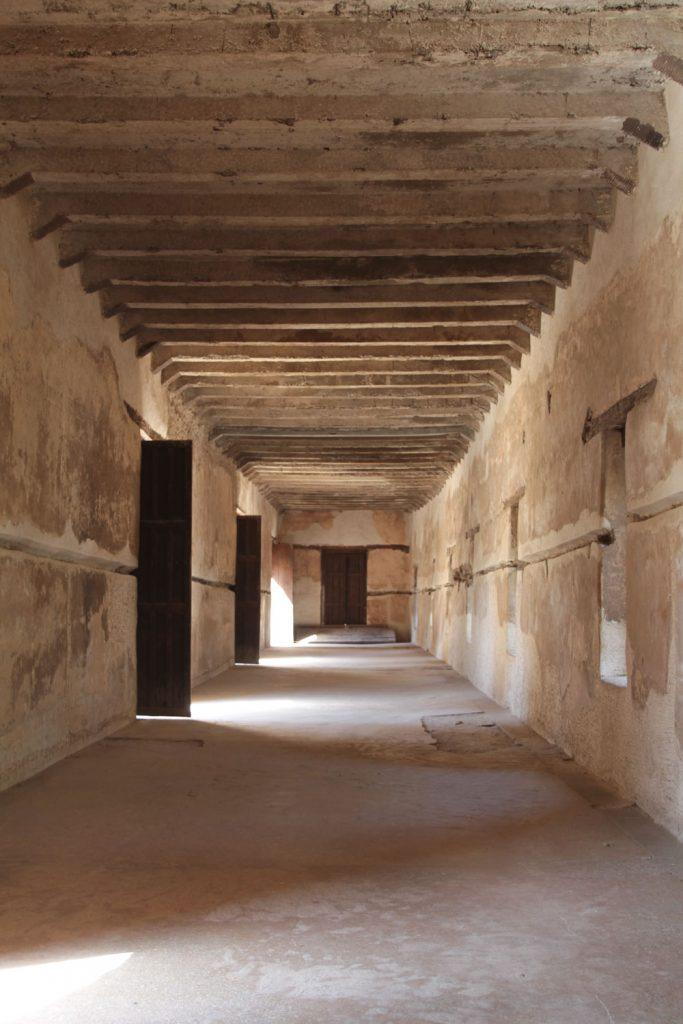 会議場として使われていたバカファ王の宮殿