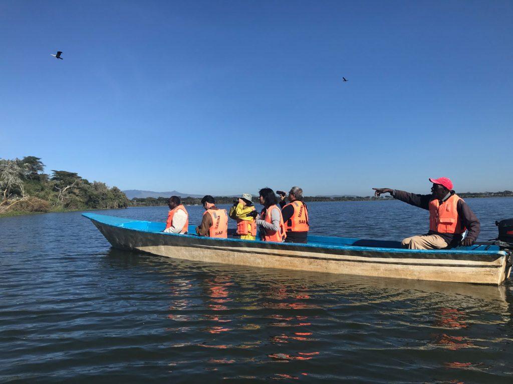 ナイバシャのボートサファリ