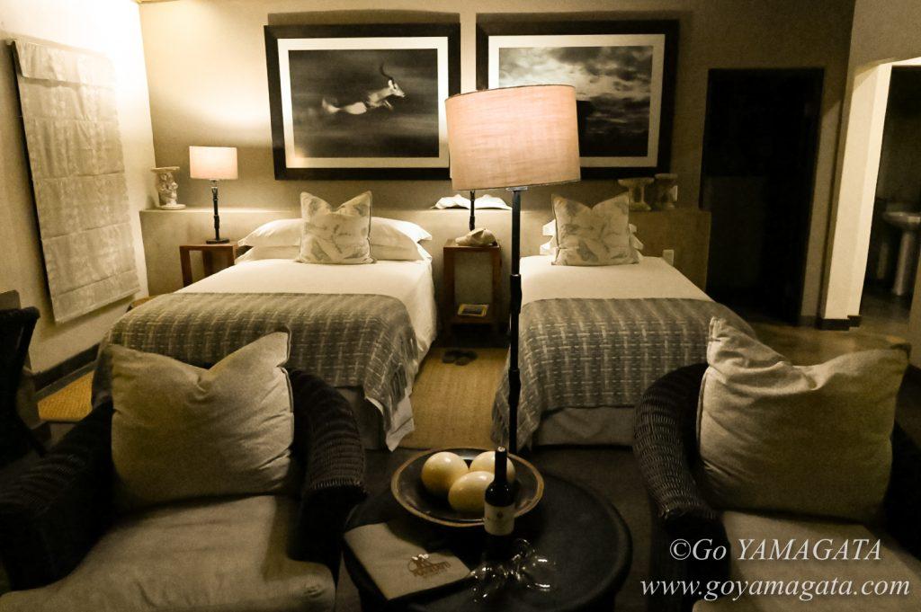 広々として快適なマシャトゥ・ロッジの部屋