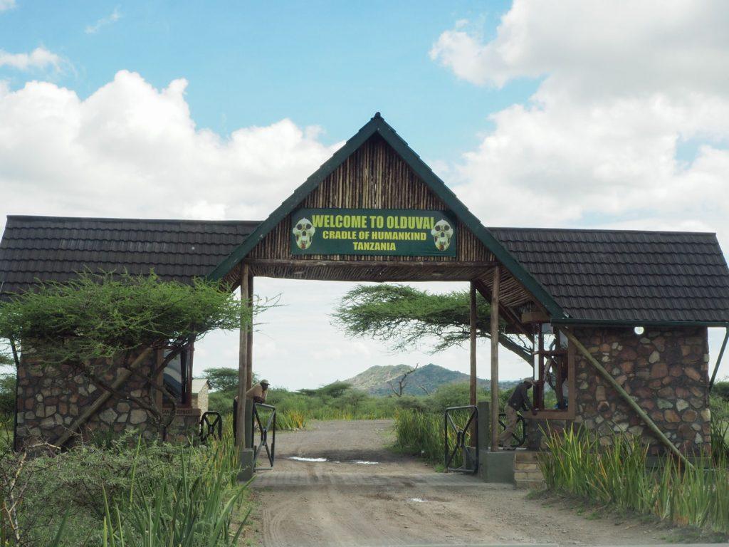ンゴロンゴロ自然保護区内に位置する、人類発祥の地と言われるオルドバイ峡谷。