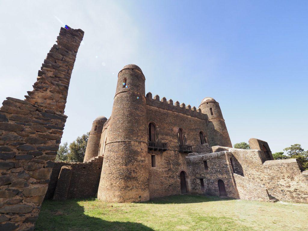 16世紀当時の都だった、ゴンダールに築かれたファシリダス帝の城