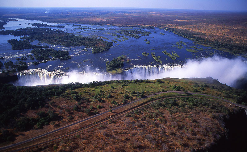 世界三大瀑布 ビクトリアの滝