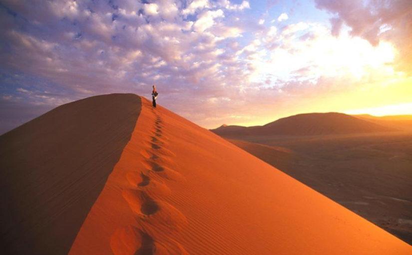 ナミブ砂漠からスタート! スーパー・ナミビア 10日間
