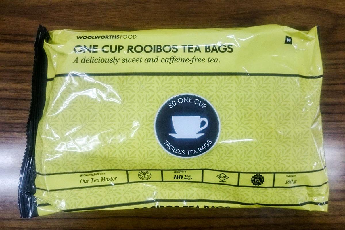 南アフリカでしか採れないお茶「ルイボスティー」