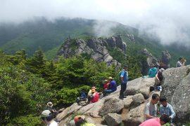 2012年7月瑞牆山 初めての山らしい山