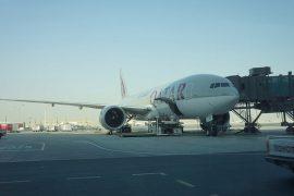 カタール航空で、ドーハ経由キリマンジャロ空港へ!