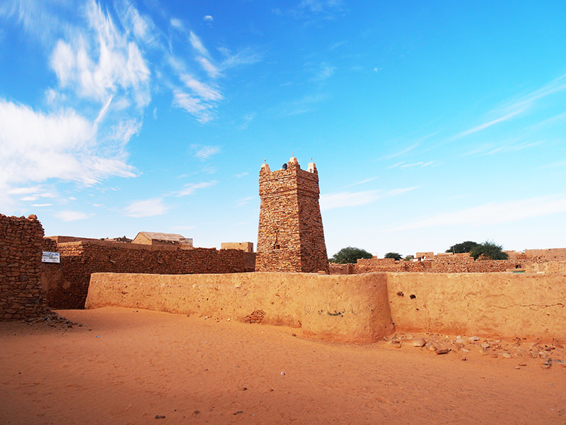 昔は「シンゲッティの国」と呼ばれたほどイスラム世界にその名が知れていた、かつての中心地シンゲッティ。