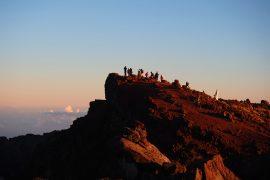 インド洋の最高地点、ピトン・デ・ネージュ山頂。