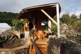 山小屋の形態は様々ですが、個室の小屋もあります。