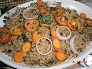 スンバラ(豆)ご飯
