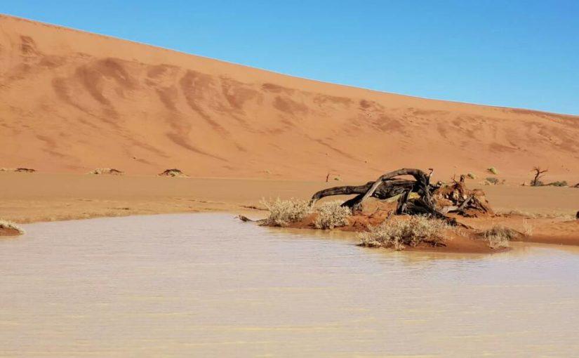 ナミビアと洪水