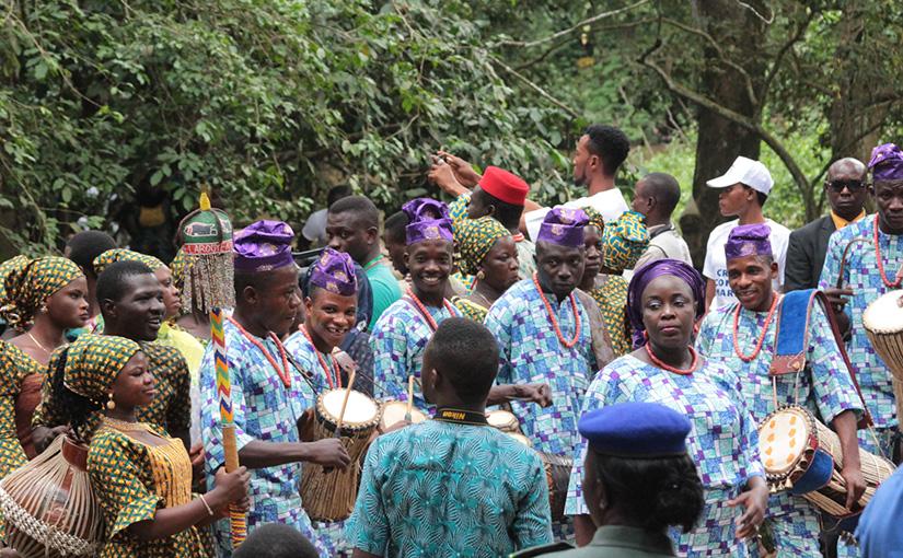 2018.8.13発 ナイジェリア オショボの祭りとヨルバランド訪問 8日間
