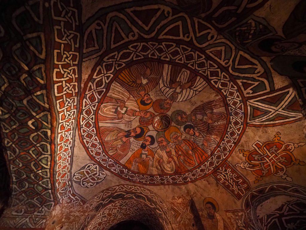 アブーナ(教父)・イェマタ以下、シリアからエチオピアに到来した9聖人の絵
