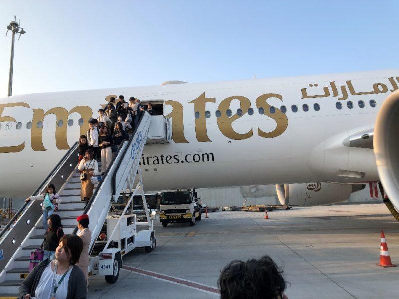 エミレーツ航空で20時間かけてようやくケニア到着